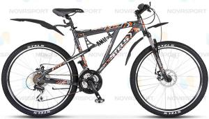 Велосипед Stels Voyager (2014) Черный/Серый