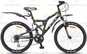 Велосипед Stels Challenger V 24 (2015) Серый/Черный/Зеленый