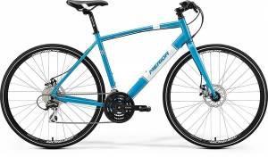 Велосипед Merida Crossway Urban 20MD Fed Metallic Blue/White (2017)