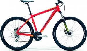 Велосипед Merida Big Seven 20MD Matt Red/Yellow/Black (2016)