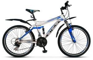 """Велосипед Stels Voyager 26"""" V Белый/Синий (16 г)"""