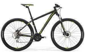 Велосипед Merida Big Nine 20MD Matt Black/Green (2017)