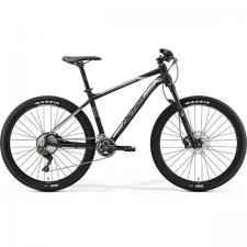 Велосипед Merida Big Seven XT Edition Matt Black (Silver)