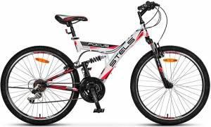 """Велосипед Stels Focus 26"""" V 18 sp V020 Белый/Красный"""