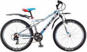 Велосипед Stels Navigator 510 V V010 Белый/Черный/Голубой/Красный