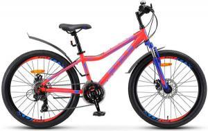 """Велосипед Stels Navigator 24"""" 410 MD V010 Неоновый-красный (LU091556)"""