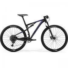 Велосипед Merida Ninety-Six 9.600 GlossyBlack/Blue/Silver 2019