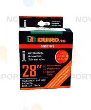 "Велокамера 28"" DURO 28x1,50/1,75 (47-622) A/V/DHB01010"