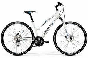 Велосипед Merida Crossway 20D-LADY White/Blue/Black (2017)