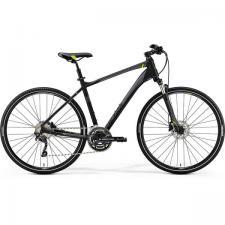 Велосипед Merida Crossway 300 MattBlack (Green) 2019