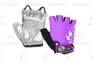 Велоперчатки CG-1176 фиолетовый