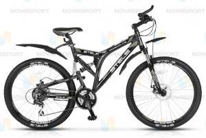 Велосипед Stels Adrenalin Disc (2014) Серый/Черный