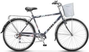 """Велосипед Stels Navigator 28"""" 350 Gent Z010 (с корзиной)"""