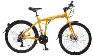"Велосипед 26"" Forward Tracer 2.0 Disc Желтый 21 ск 17-18 г"