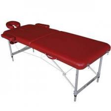 Массажный стол  DFC Nirvana Elegant Luxe бордовый