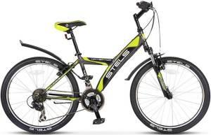 "Велосипед Stels Navigator 24"" 410 V V010 Серый/Салатовый/Черный"