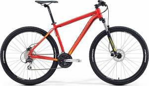 Велосипед Merida Big Nine 20D Matt Red/Yellow/Black (2016)