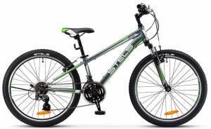 "Велосипед Stels Navigator 24"" 400 V V020/V021 Серый/Зеленый"