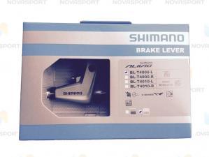 Ручка тормозная Shimano Alivio T4000 левая серебро EBLT4000LS