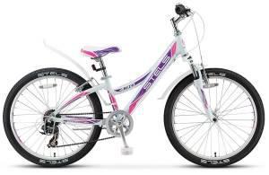 "Велосипед Stels Navigator 24"" 430 V V020 Белый/Пурпурный/Красный"