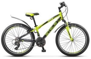 """Велосипед Stels Navigator 24"""" 450 V V020 Лайм/Черный"""