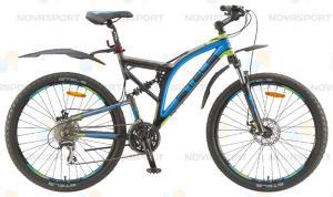 Велосипед Stels Adrenalin MD 26 (2015) Темно-серый/Черный/Голубой/Салатовый