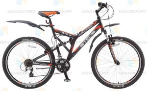 Велосипед Stels Challenger V 26 (2015) Черный/Серый/Оранжевый