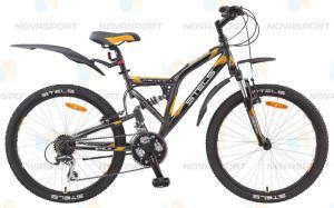 "Велосипед Stels Challenger 24"" V (2015) Серый/Черный/Оранжевый (2015)"