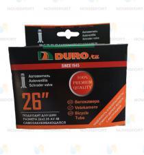 "Велокамера 26"" DURO 26х2,10/2,35 A/V-48 двойной обод/DHB01022"