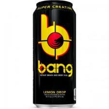 Энергетический напиток BANG Champang 16oz  лимонад