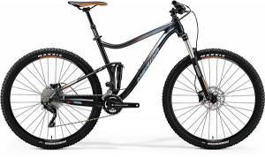 Велосипед Merida One-Twenty 9.400 Dark Grey (Orange/Silver) 2018