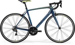 Велосипед Merida SCULTURA 5000 Matt Petrol (Teal/Yellow) 2018