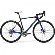 Велосипед Merida Mission СХ7000 DarkBlue/Green 2019