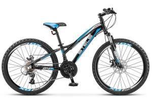 "Велосипед Stels Navigator 24"" 460 MD V020 Черный"