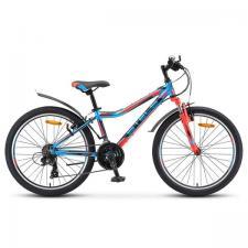 """Велосипед Stels Navigator 24"""" 450 V V010 Синий/Красный/Черный (LU091797)"""