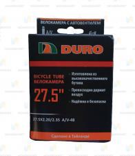 "Велокамера 27,5 ""DURO 27,5x2,20/2,35 A/V-48/DHBO1031"