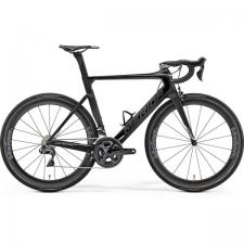 Велосипед Merida REACTO 8000-E MattUD/ShinyBlack/Chrome 2019