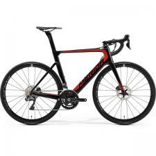 Велосипед Merida REACTO Disc 7000-E GlossyCarbonUD/Red 2019
