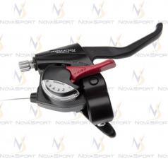 Шифтер/тормозная ручка Shimano Tourney ST-EF40 черный лев 3ск ASTEF402LSBLN