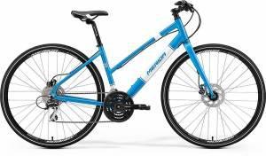 Велосипед Merida Crossway Urban 20D LADY Fed Metallic Blue/White (2017)