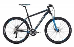 Велосипед Merida Big Seven 70 Matt Black/Blue/Grey (2016)