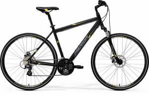 Велосипед Merida Crossway 15MD Matt Black/Yellow/Grey (2017)