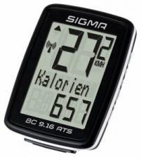 Велокомпьютер Sigma ВС 9.16 ATS беспроводной 9 функций