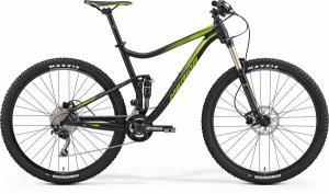 Велосипед Merida One-Twenty 9.500 MattBlack/Green (2017)