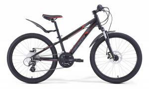 Велосипед Merida Matts J24 Marathon SL Black/Red/Grey (2017)