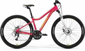 Велосипед Merida Juliet 7.40MD Rasberry/Lime (2017)