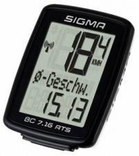 Велокомпьютер Sigma ВС 7.16 ATS беспроводной 7 функций