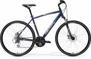 Велосипед Merida Crossway 20MD Dark Blue/Silver/White (2017)