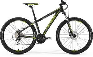 Велосипед Merida Big Seven 20D Matt Black/Green (2017)