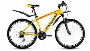 """Велосипед 26"""" Forward Next 1.0 Желтый Матовый 16-17 г"""